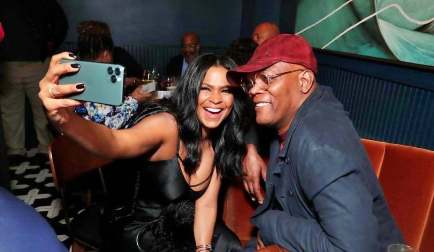 Nia Long and Samuel L. Jackson