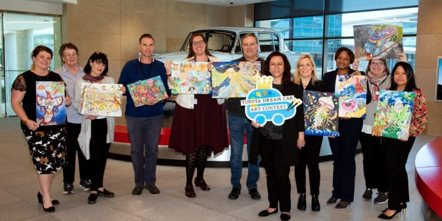 Toyota Art Competition